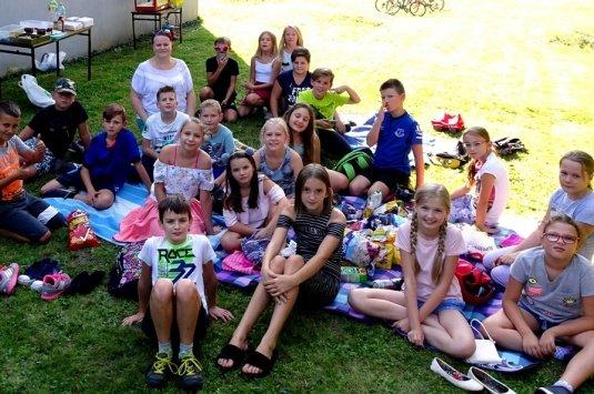 Piknik klasy piątej