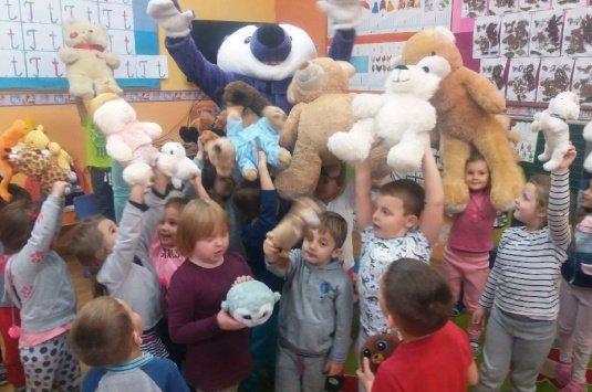 Dzień Misia w oddziałach przedszkolnych