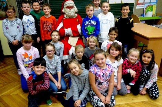 Mikołaj w klasie III