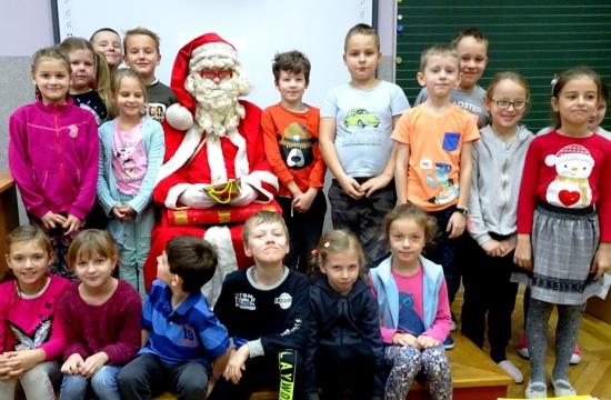 Mikołaj w klasie II