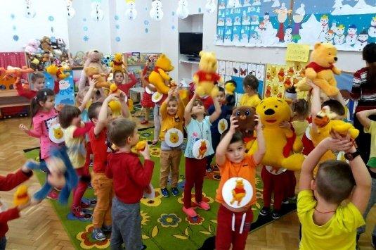 Dzień Kubusia Puchatka w Punktach Przedszkolnych