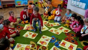 Dzień Kubusia Puchatka w Punktach Przedszkolnych w Puńcowie
