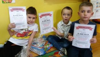 """Gminny Konkurs Informatyczny dla przedszkolaków """"Z komputerem za pan brat"""""""