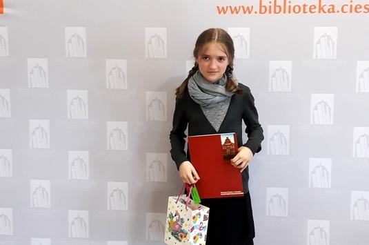 Laureatka Międzynarodowego Konkursu Literackiego