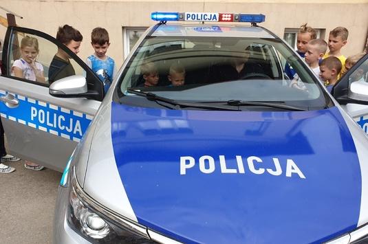 Bezpiecznie w wakacje- spotkanie z policjantami