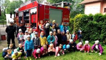 Nasze przedszkolaki odwiedziły OSP Puńców