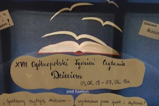 Ogólnopolski tydzień głośnego czytania dzieciom