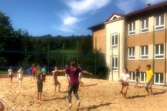 Dzień sportu w Cisownicy