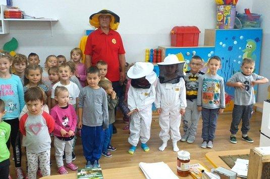 O życiu pszczół- spotkanie z przedszkolakami
