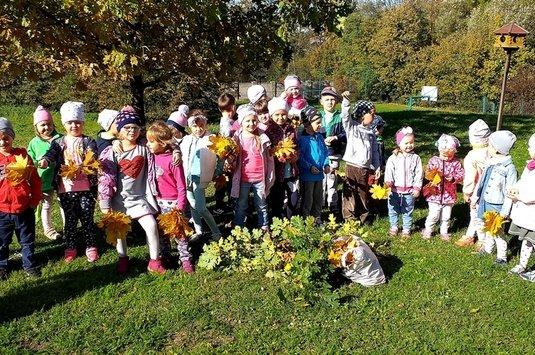 Jesień w punktach przedszkolnych