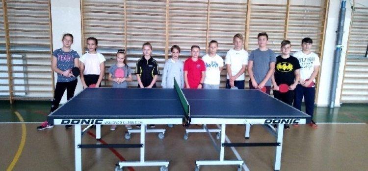 Tenis stołowy- etap gminny