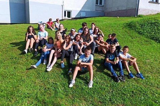 Piknik integracyjny klasy 7