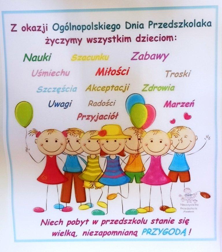 Dzień przedszkolaka | Zespół Szkolno-Przedszkolny w Dzięgielowie